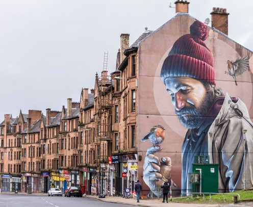 Graffiti as art in Scotland
