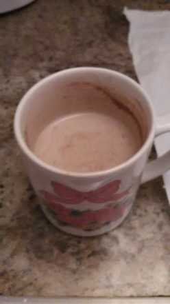 Yummy Hot Vanilla Drink