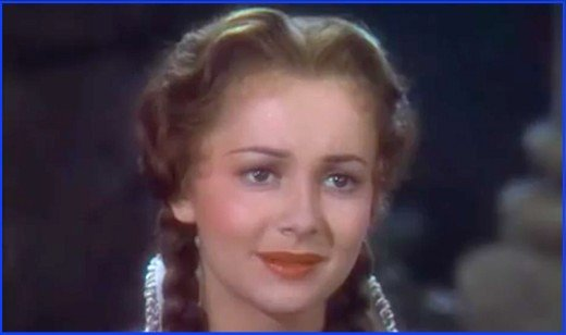 Olivia de Havilland in Robin Hood.