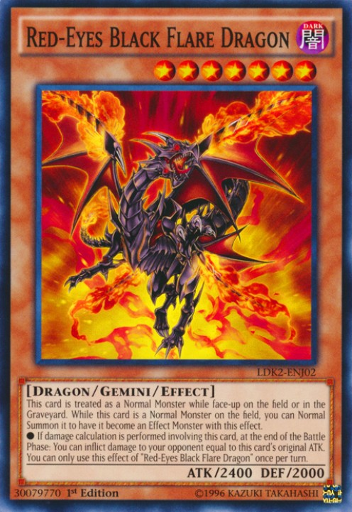 Top 10 Cards You Need for Your Red-Eyes Black Dragon Yu-Gi-Oh Deck