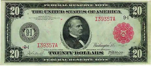 Then USA Dollar issued by Federal reserve