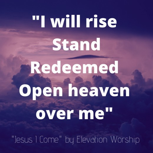 "Lyrics to ""Jesus I Come"" by Elevation Worship"