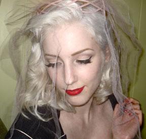 Healthy bleached hair
