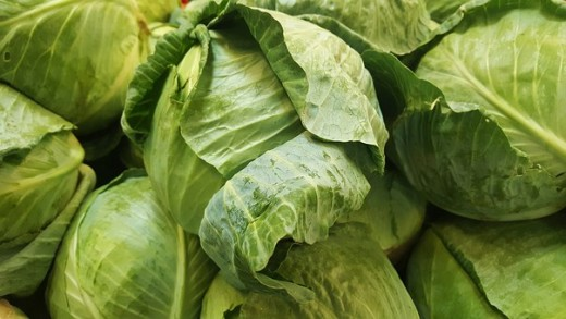 Cabbage contain vitamin K and promotes bone health