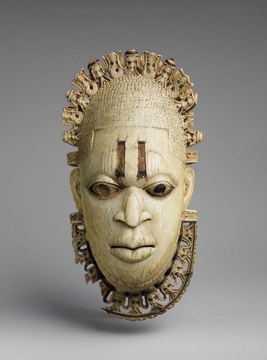 A Benin Ivory Mask, 16th Century, Nigeria.