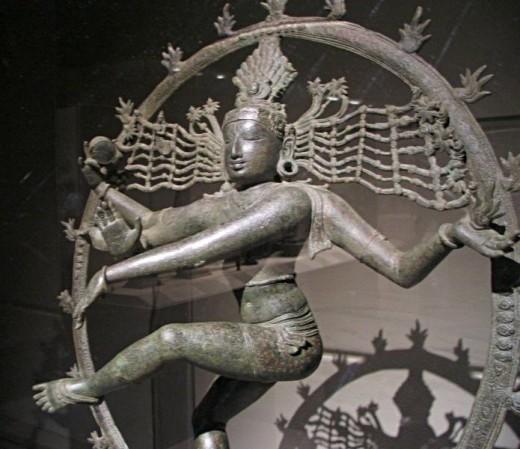 A Bronze Statue of Nataraja