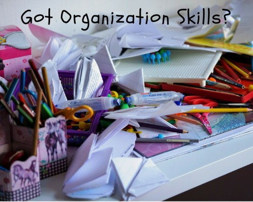 Many middle school students haven't learned how to be organized.