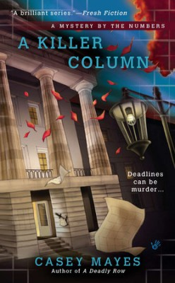 Book Review: A Killer Column by Casey Mayes
