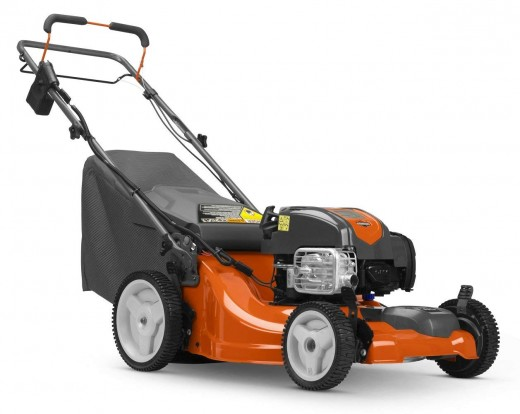 Versatile and simple to use, the Husqvarna LC221FHE has front wheel drive to mowing less effort.  The raised rear wheels make it easier to maneuver around the yard. Strong suctiion leaves nothing behind.