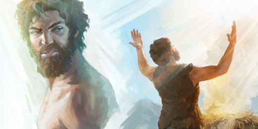 Cain was angry at God for not accepting his offering, but accepting his brother Abel's.