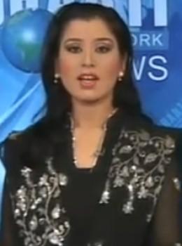 Shugufta, Dharti News caster