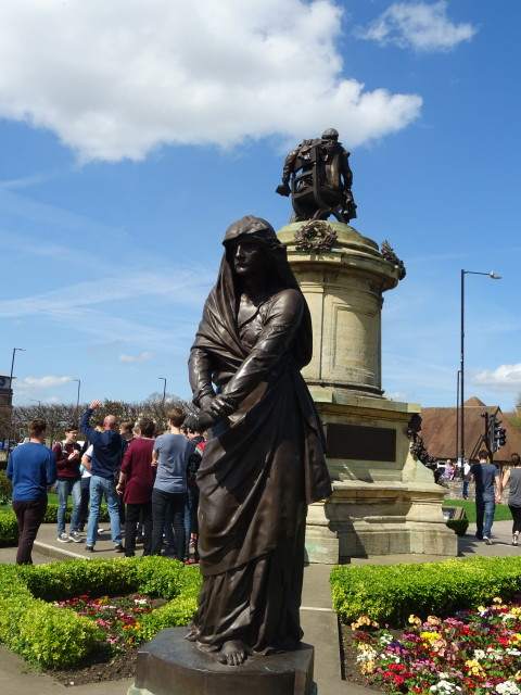 Shakespeare's Memorial by the River Avon