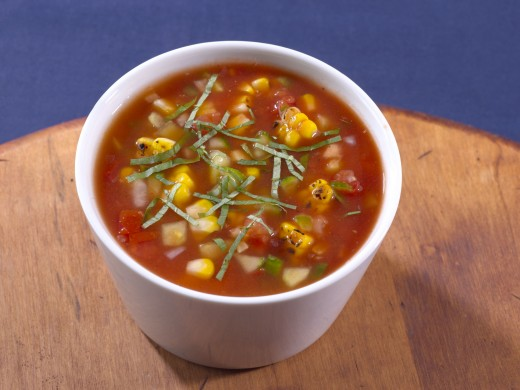 Simple Garden Gazpacho will add a kick to your day