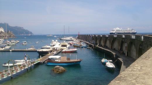 Seaside View in Amalfi, Italy