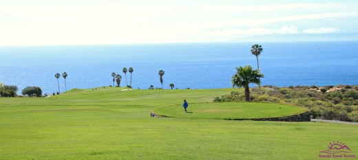 The golf course at Adeje