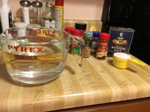 Spice Ingredients My Photo
