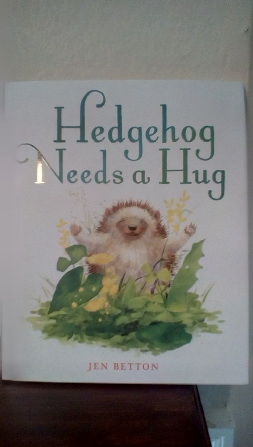 Young readers will find a lesson in friendship and the value of a hug along with Hedgehog