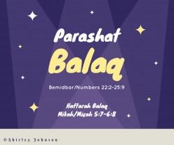 Parashat Balaq