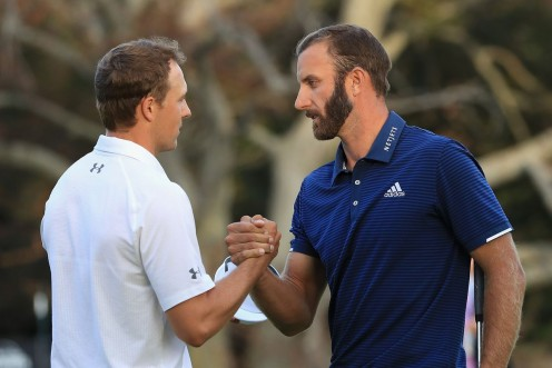 U.S. Open Champs Jordan Speith (L) and Dustin Johnson. Can they help grow the sport among millennials?