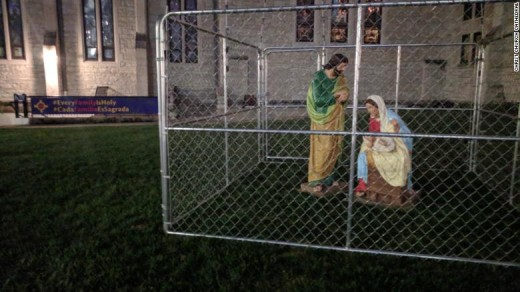 The journeys of immigrant families are similar to that of the Holy Family. Scripture says that Mary, Joseph and the infant Jesus were homeless and fled to Egypt.
