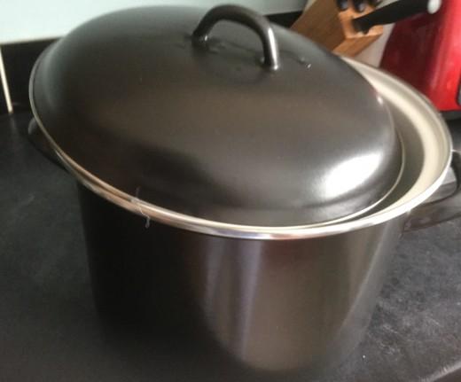 My large enamel stockpot