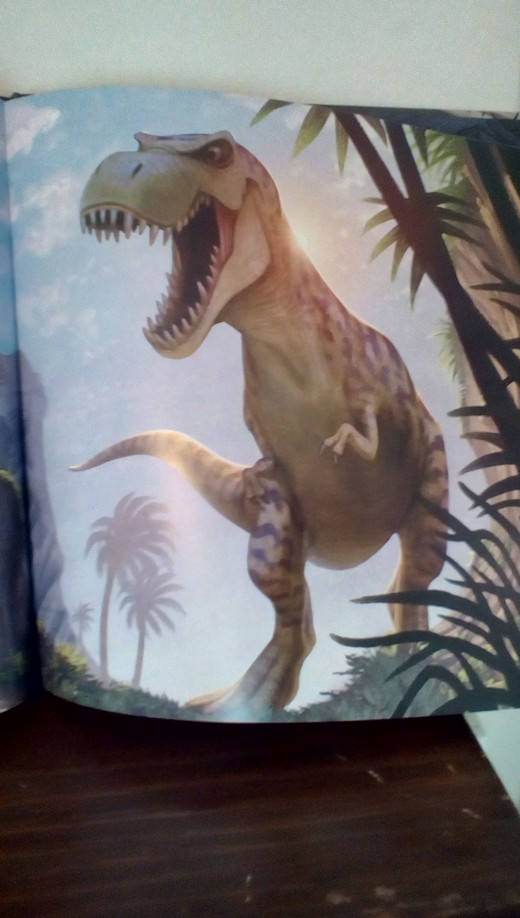 A dinosaur is part of an adventure that helps Charlie learn the lesson of believing to achieve