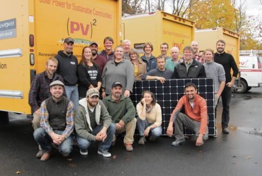 PV Squared, a Massachusetts worker cooperative