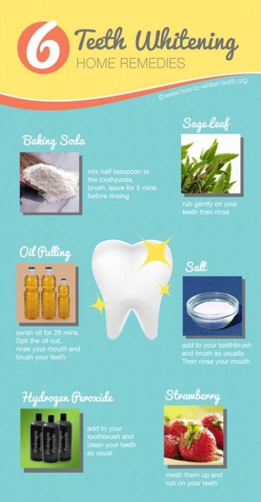 Use baking soda to help whiten your teeth.