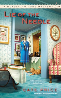 Book Review: Lie of the Needle by Cate Price