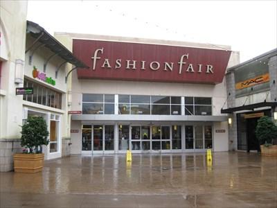 Fashion Fair has shopping and food