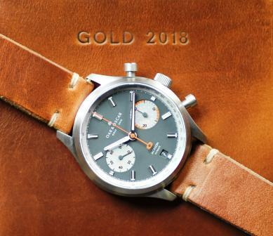 Oak & Oscar Jackson Curling Watch From the 2018 Winter Olympic Games