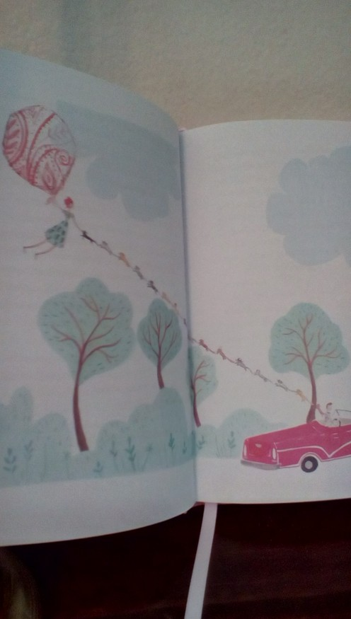 Tablecloth flying-a touch of Mary Poppins travel
