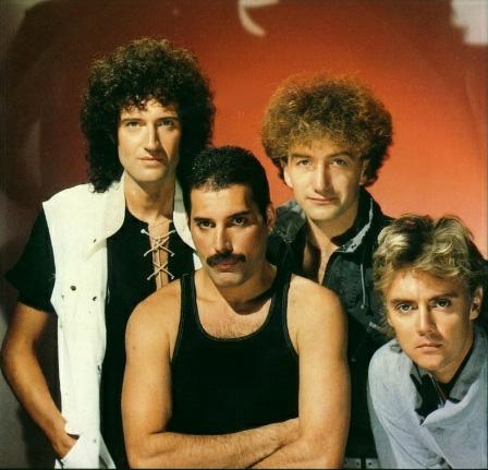 Brian May, Freddie Mercury, John Deacon, Roger Taylor