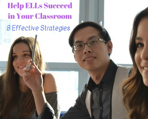 Be intentional about using strategies in your classroom to help your English language learners succeed.