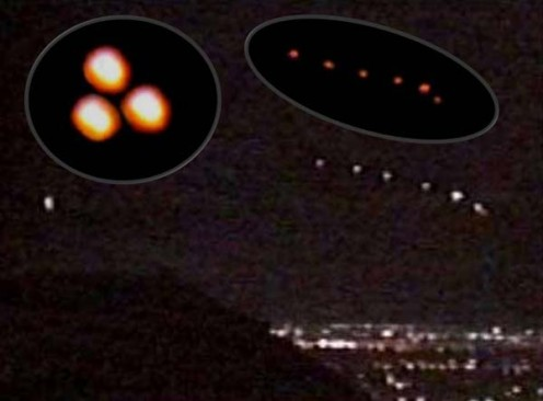 The Phoenix Lights: Mysterious Lights Seen by Thousands From Nevada to Arizona
