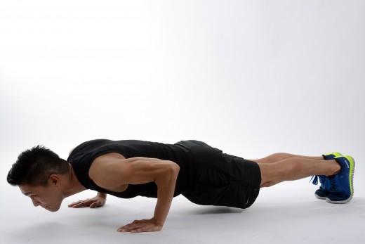 Push-ups for Muscular Endurance