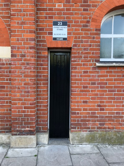 Narrow Entrance Door