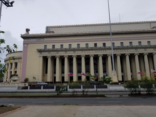 The Manila Central Post Office is the central post office of the city of Manila, Philippines. It is the head office of the Philippine Postal Corporation, and houses the country's main mail sorting-distribution operations. (Wikipedia)