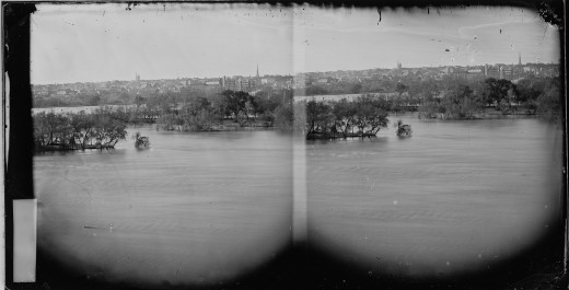 View of Richmond from the River