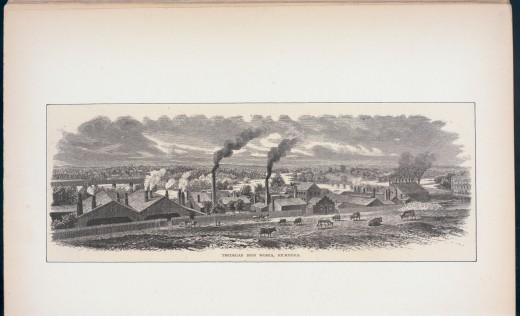 The Tredegar Iron Works Richmond, Va