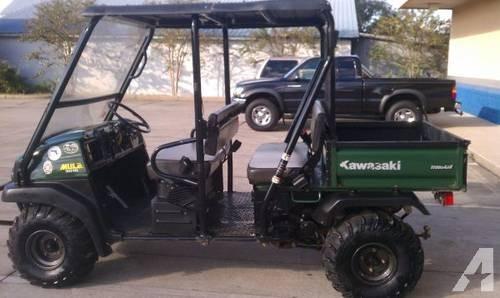 An ATV similar to the one Peter drove