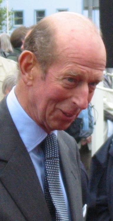 HRH The Duke of Kent in 2007