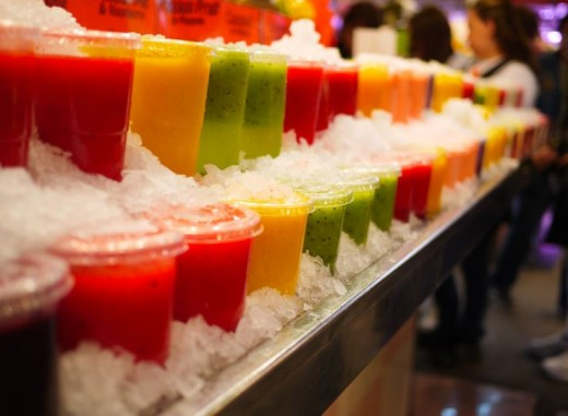 Highly acidic fruit juices can be extremely harmful to the teeth