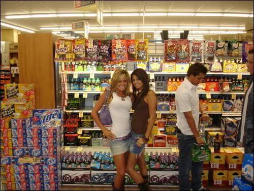 These two are happy with their grocery shopping experience, what about you?