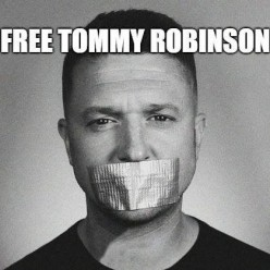 Tommy Robinson: Compared to Nelson Mandela.