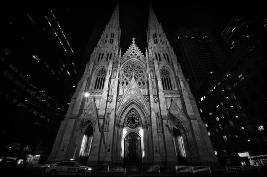 Tickets to attend Christmas Eve midnight mass at St. Patrick's Cathedral are required.  (A lottery is held each year prior to Christmas, and it should be noted that entering the lottery does not guarantee ticket fulfillment.)