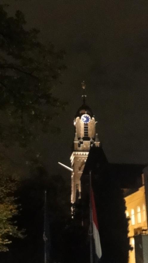 Remonstrantse Kerk (Arminius) at night