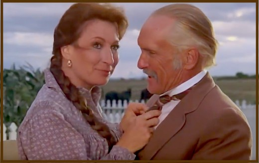 "Anjelica Huston may have missed her chance to play a galactic princess, but later got to play Robert Duvall's true love and soulmate in the highly acclaimed TV miniseries ""Lonesome Dove."""