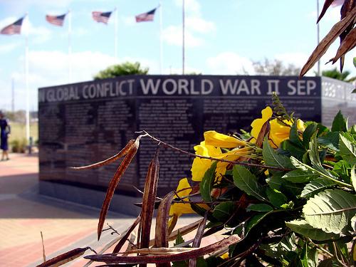 World War II Memorial in McAllen