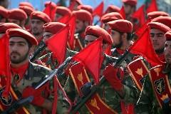 Iranian military parade.